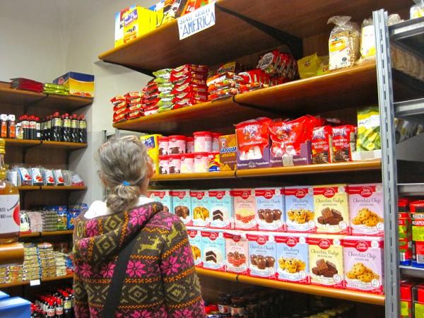 American food, on display at Vivi Market
