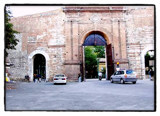 one of the gates to Siena