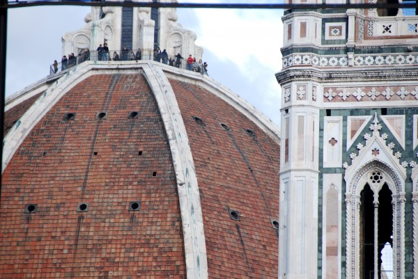 top of the duomo