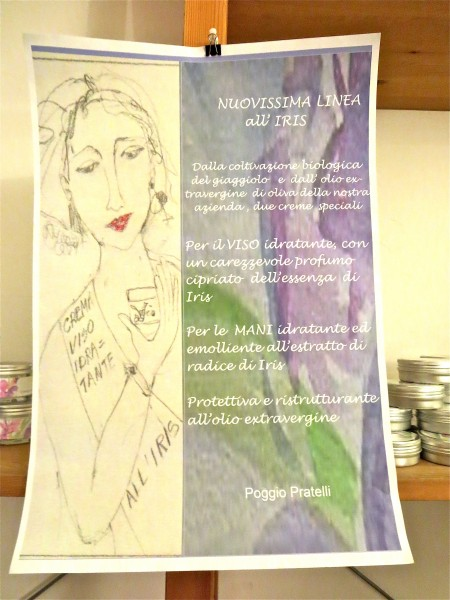 the poster advertising a new bio skin care line