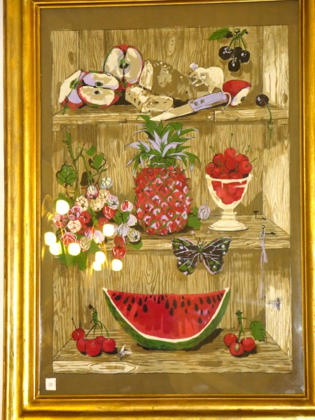 The  fruit painting purchased by Rita