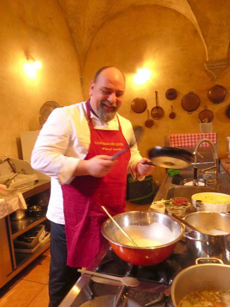Jeri, our private chef!