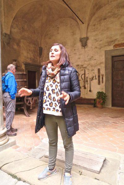 Meet Marta, our charming guide to Castella del Trebbio